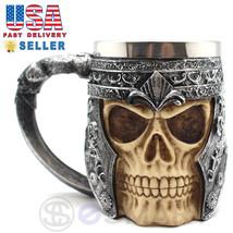 Skeleton Skull 3D Skeleton Tankard Mug Cup Coffee Beer Pirate Gothic Hal... - £16.37 GBP