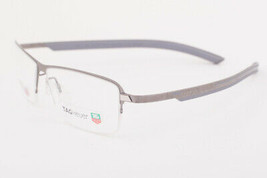 Tag Heuer 3824 003 Line Ruthenium Gray Eyeglasses 3824-003 58mm - $273.42