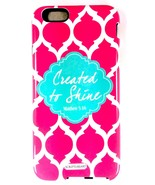 "Scripture Art Brooke Coral ""Created To Shine"" Two Piece iPhone 6 Tough C... - $9.99"