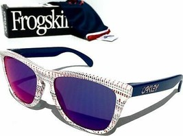 Oakley FROGSKINS Team USA Collection White w Red Iridium OO9013-85 - $139.20