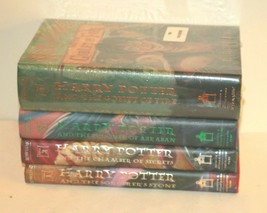 Harry Potter Books Set 1 2 3 4 Hardcover FIRST EDITION US 5th PRINT New - $97.02