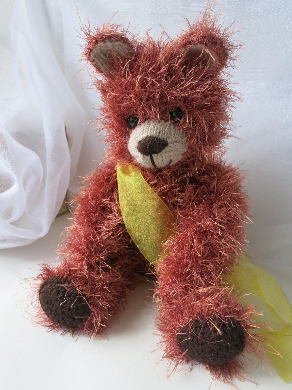 Handmade Teddy Bear Toy, stuffed animal nursery decoration,OOAK,birthday gift