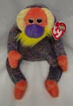 "TY 2000 Beanie Baby BANANAS THE MULTI-COLORED ORANGUTAN 5"" Stuffed Anima... - $15.35"