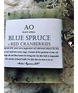Organic Blue Spruce + Red Cranberries + Red Clay + Oats Handmade The AO ... - $0.99+
