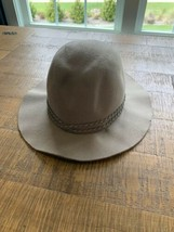 U.S. Polo Assn. Gray Unisex Fedora Hat - Circumference on Inside - $14.99