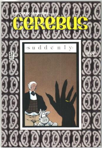 Cerebus the Aardvark Comic Book #57 AV 1983 NEAR MINT NEW UNREAD
