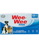 Four Paws Wee Wee Pads For Puppies 100 Ct - $62.42