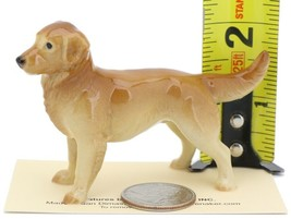 Hagen Renaker Miniature Dog Golden Retriever Papa Ceramic Figurine image 2