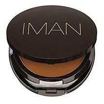 IMAN Luxury Pressed Powder, Earth Medium 0.35 oz - $21.65
