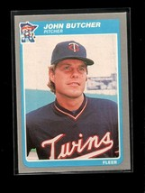 1985 FLEER #273 JOHN BUTCHER NMMT TWINS - $0.99