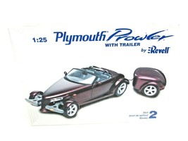 Revell Plymouth Prowler With Trailer 1:25 Scale #85-0874 Sealed New Old ... - $14.85