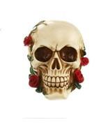 Creative Resin Skull  Statue Halloween Sculpture Home Office Desk Decor ... - £20.97 GBP