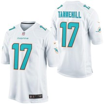 Youth Miami Dolphins #17 Ryan Tannehill White Team Color Game football J... - $54.99