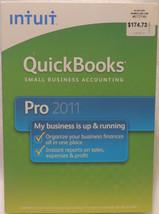 INTUIT QUICKBOOKS PRO 2011 FOR WINDOWS FULL RETAIL US VERSION - $109.86