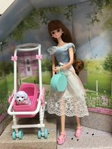 Mimi World Mimi and Shushu Let's go to The Park Figure Toy Doll Rollplay Playset image 3