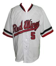 Cal Ripken #5 Rochester Red Wings Baseball Jersey Button Down White Any Size image 1