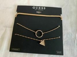 """Guess Necklace Bundle Gold Color 12""""+ 3"""" G10070-43 - $8.90"""