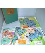 Around The World Program Set 1 American Geographic 5 Books Greece Plus 1960 - $12.99