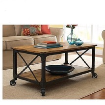 Wood Country Cottage Coffee Table Living Room Hall Storage End Furniture... - €131,89 EUR