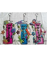 GGH Variey of beautifully decorated WELCOME signs for garden or indoors - $5.99