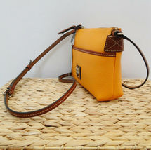 Dooney & Bourke Pebble Ginger Crossbody MELON COLOR image 3