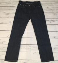 Levis 514 Mens Jeans Slim Straight Blue Dark Wash Tag 29x30 Act 30x29 Co... - $475,44 MXN
