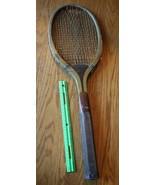 A.G.Spalding & Bros Internazionale in Legno Racchetta da Tennis Vintage ... - $196.99