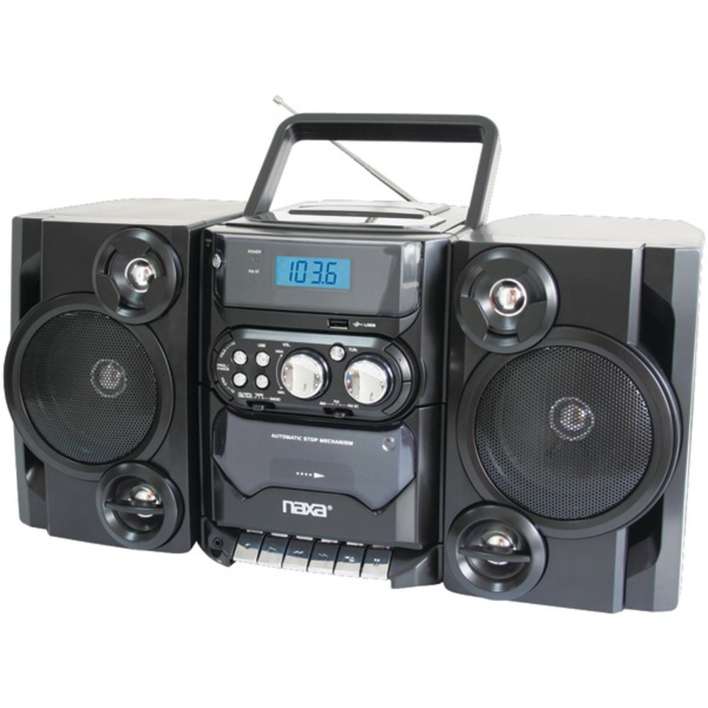 Primary image for Naxa NPB428 Portable MP3/CD Player with AM/FM Radio and Detachable Speakers