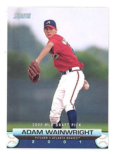 2001 Stadium Club Adam Wainwright RC #158 Rookie Baseball Card St. Louis Cardina