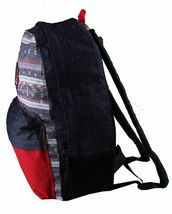 Official Salvador Aztec School Gym Bag Denim Backpack F15-3002 NWT image 3