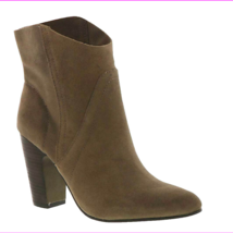 Vince Camuto Creestal Suede Ankle Boots Bedrock, Size 8 M - $45.09