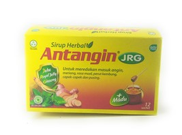 Antangin JRG Herbal Syrup 12-ct, 180 Ml/ 6 fl oz (Pack of 4) - $77.06