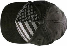 Dope Couture Pledge Legion USA Weed Marijana Stars Stripes Flag Snapback Hat image 7