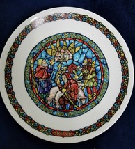 Joyeuse NOUVELLE 3 KINGS RELIGIOUS COLLECTORS PLATE NUMBERED - $24.75