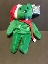 1998 Salvino's Bamm Beano's Cal Ripken Jr #8 Christmas Bear - $7.55