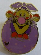 Disney Winnie the Pooh Pal Tigger Purple Blanket Hong Kong Disneyland Pin  - $14.05