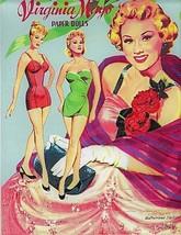 VINTAGE UNCUT 1957 VIRGINIA MAYO PAPER DOLLS~GORGEOUS~ORIG SIZE~#1 REPRO... - $18.75