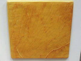 "3 SLATE TILE MOLDS 12""x12"" TO CRAFT 100s OF CONCRETE FLOOR, WALL TILES  $0.30 EA image 3"