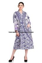 Women's 100% Cotton Kimono Robe Ombre Mandala Indian Bath Robes Dressing... - $22.43