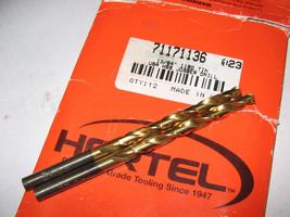 """Hertel, 13/64"""" TIN HSS Drill Bits, (Qty 2) - $14.99"""