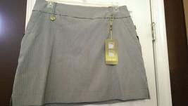 Nwt Ladies Swing Control Lisette Sport Black White Gingham Golf Skort Size 16 - $52.99