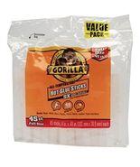 Gorilla 3034502 Hot Glue Sticks 4 In. Full Size, 45 Count [New] - $16.43