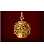 Kerala Traditional ThookuVilakku,South Indian Hanging Lamp,Gajalakshmi T... - $349.00