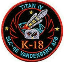 SP-215 NASA Titan IV K-18 SLC-4E Space Patch NEW!!!  - $11.87