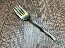 Holmes & Edwards Cold Meat Fork Silverplate 1923 Century 8.5 In - $10.00