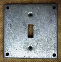 Cover 4in Square Switch Steel - $5.22