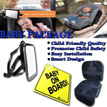 Zone Tech Baby On Board Decal Rear Mirror Child Safety Car Seat Protecto... - $26.99