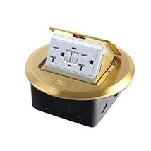 PetSply Pop-up Electrical Floor Outlet Cover Box 20 Amp 125V with GFCI b... - $44.22
