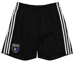adidas Men's MLS Adizero Team Replica Short, San Jose Earthquakes- Black XX-Larg - $22.71