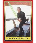 1983 Topps Star Wars Return of the Jedi #51 THE RAGING BATTLE Trading Card - $2.93